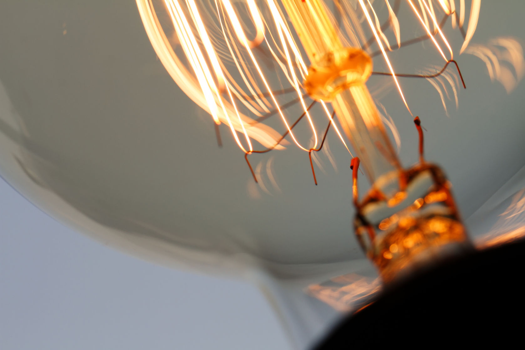 38158021 - close up of vintage light bulb as creative concept